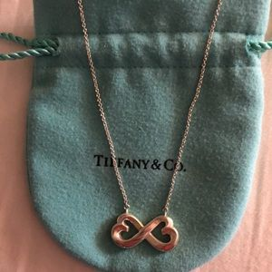 Tiffany &Co Paloma Picasso Infinity Heart Necklace